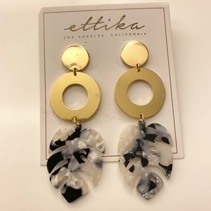 Gorgeous Ettika LA earrings from Ritz -NWT